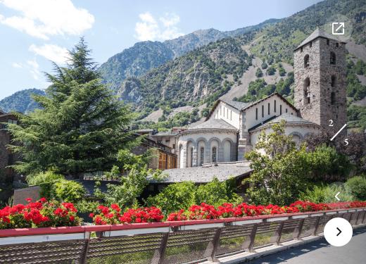 Sant Esteve church Andorra Prestigi Hotels