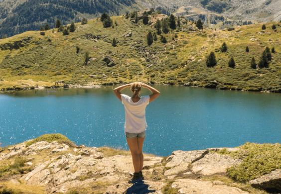 Andorra lake and mountains landscape Prestigi Hotels