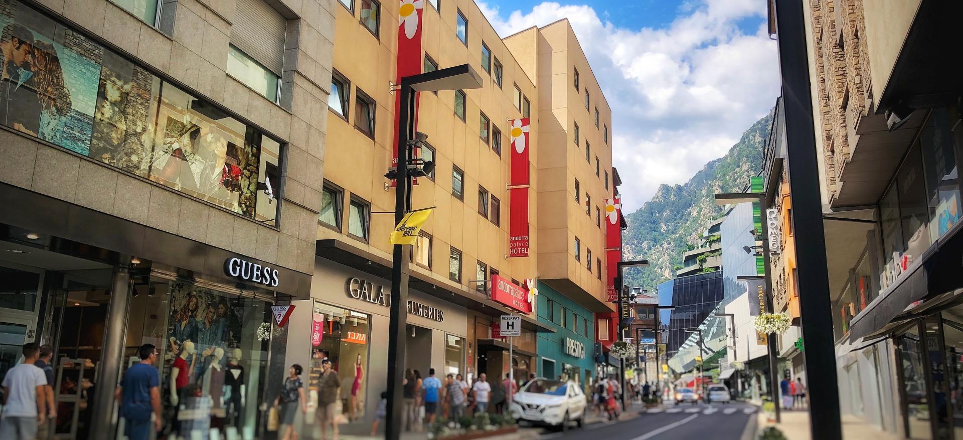 3-star hotel downtown Andorra la Vella