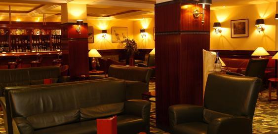 Sofàs del bar de l'Hotel Mercure