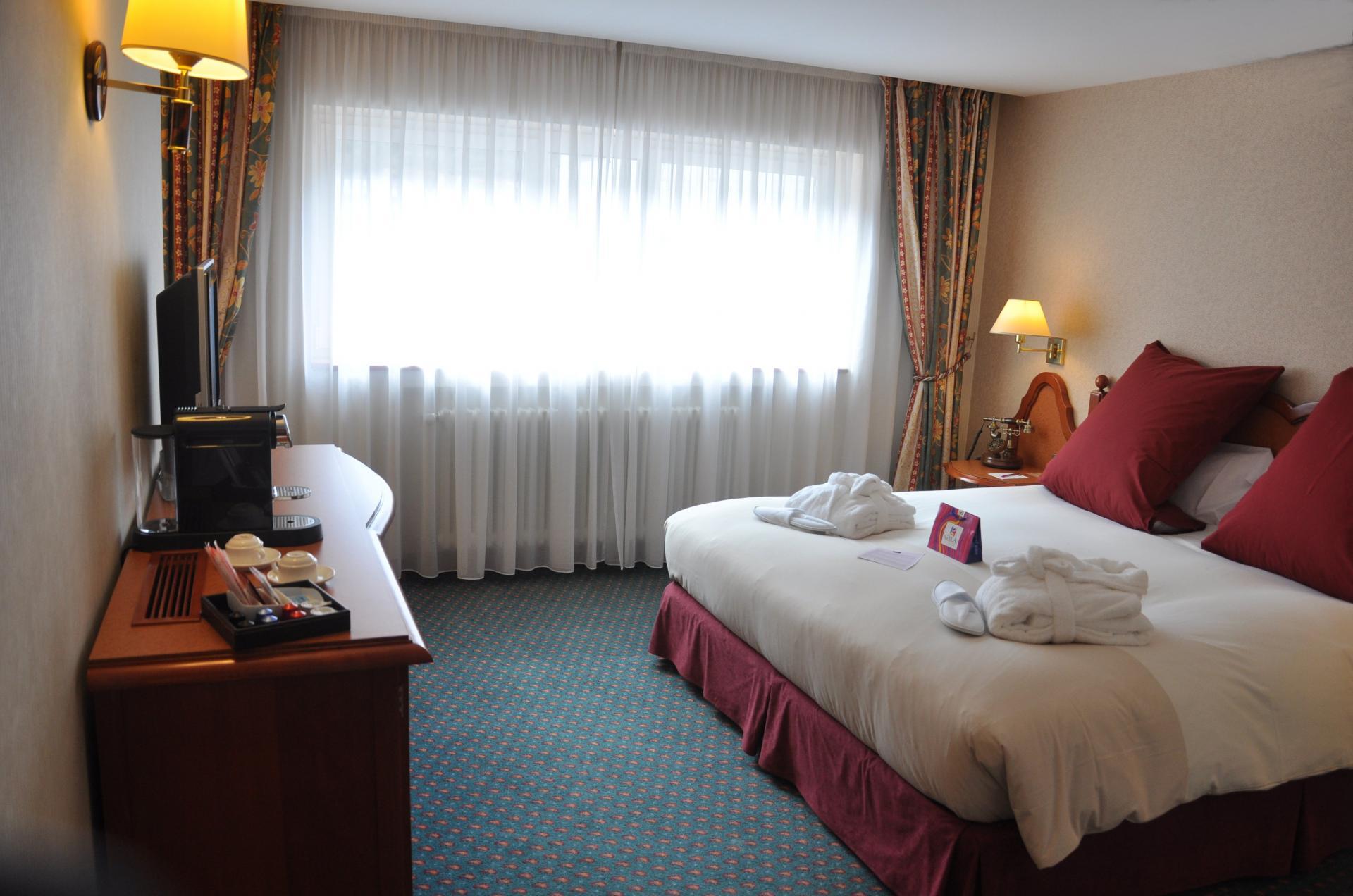 Habitaciones del Hotel Mercure Andorra