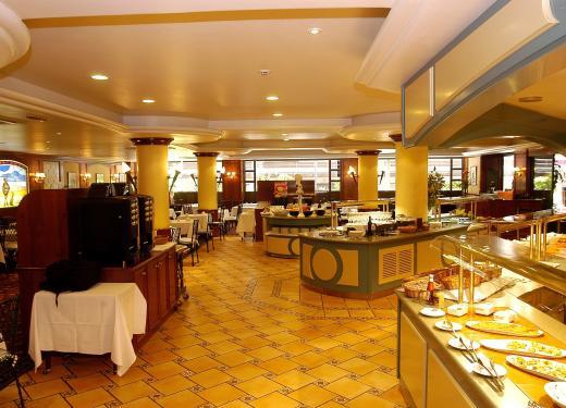 Hall Gran Bufet Restaurant Mercure Prestigi Hotels Andorra