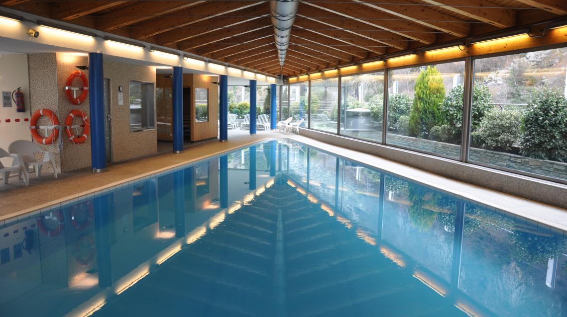 Piscina cubierta Hotel Tropical Prestigi Hotels Andorra