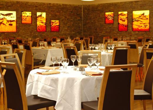 Tables details Gran Bufet Restaurant Hotel Novotel Prestigi Hotels Andorra