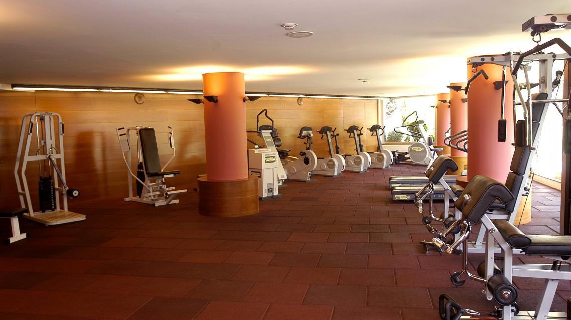 Gym machines Wellness Spa & Fitness Club Prestigi Hotels Andorra