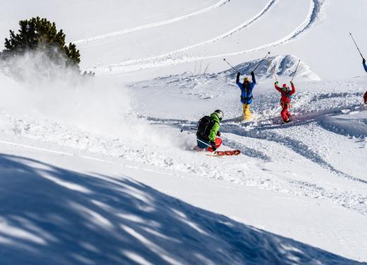 Actividades de inverno en las montañas de Andorra Prestigi Hotels