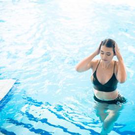 Swimming pool Prestigi Hotels Andorre
